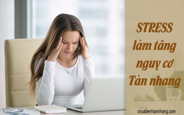 stress là nguên nhân gây tàn nhang