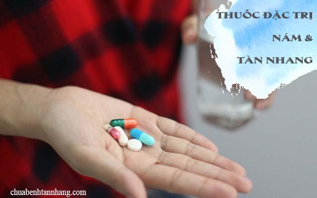 thuốc đặc trị nám và tàn nhang