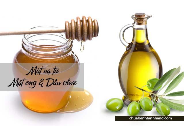Chăm sóc da khô mùa đông với mật ong và dầu olive