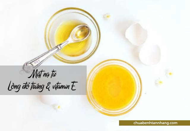 Chăm sóc da khô mùa đông với lòng đỏ và vitamin E