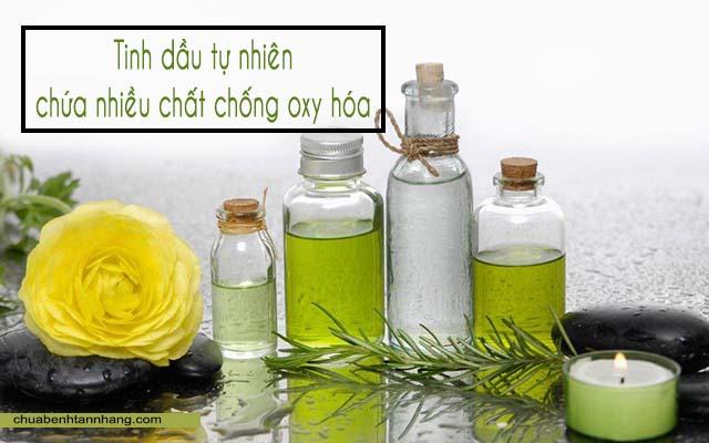 Tinh dầu tự nhiên chứa nhiều thành phần tốt