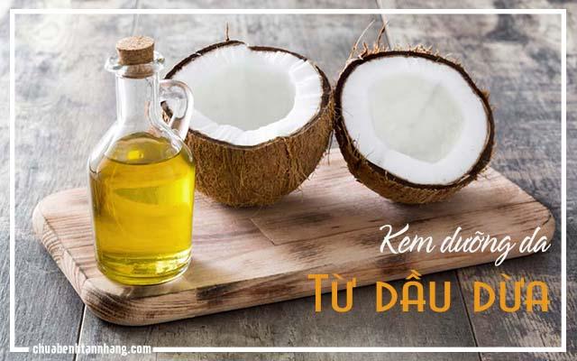 Tự chế kem dưỡng da tại nhà từ dầu dừa