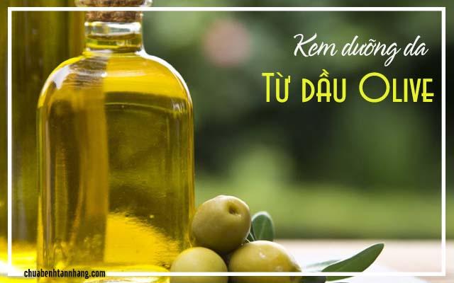Tự chế kem dưỡng da tại nhà từ dầu olive