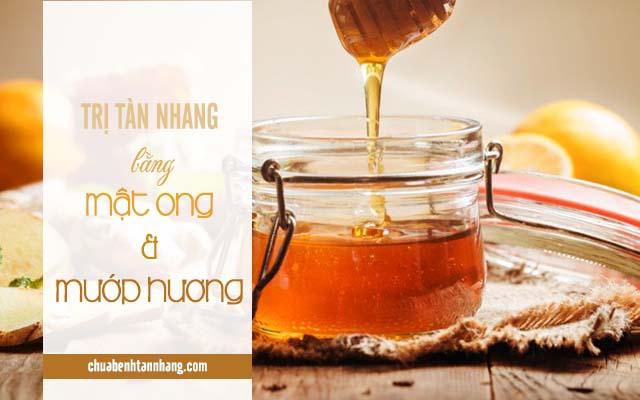 Công thức trị tàn nhang bằng mướp hương và mật ong