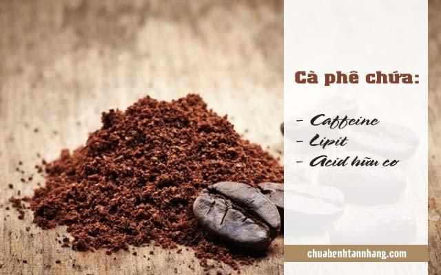 trị nám da từ cà phê