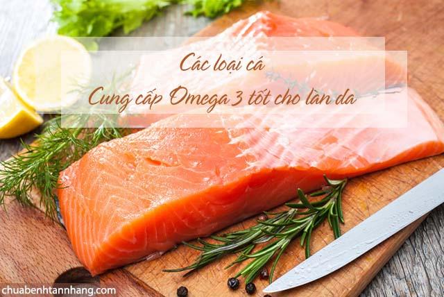 ăn cá giúp da mặt trắng mịn