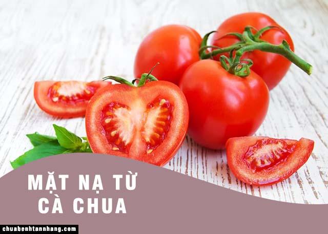 Mặt nạ dưỡng da trắng hồng từ cà chua