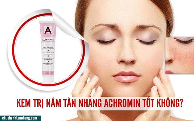 Kem trị nám tàn nhang Achromin