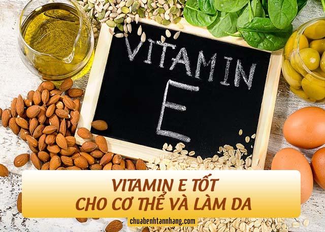 cách dùng vitamin e trị tàn nhang