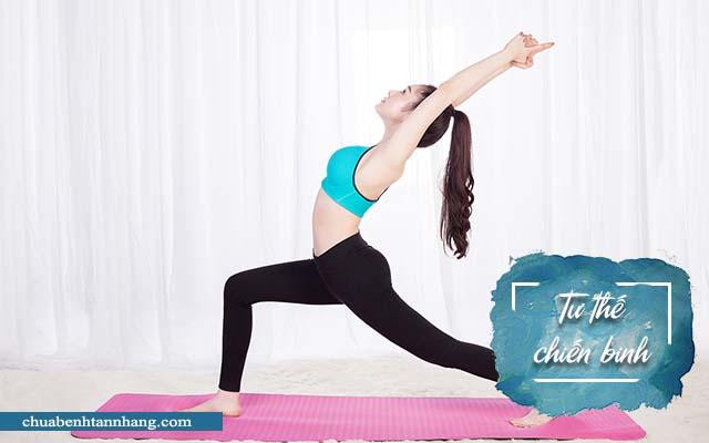 Tư thế chiến binh trong yoga