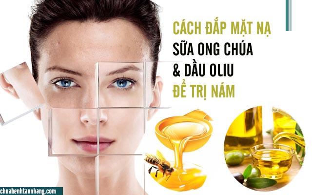 sữa ong chúa và dầu oliu