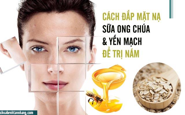 sữa ong chúa và yến mạch