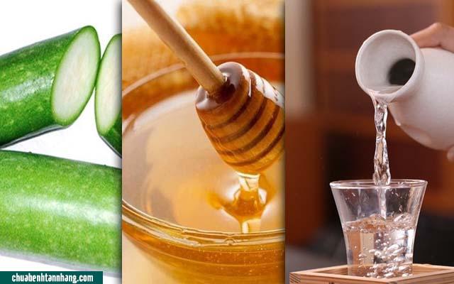 Cao bí đao trị nám được chế biến từ bí đao, mật ong và rượu trắng