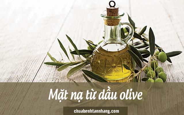 trị nám cho da khô bằng dầu olive