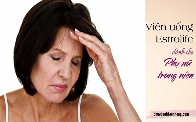 Viên uống trị tàn nhang được khuyến khích dùng cho phụ nữ trung niên