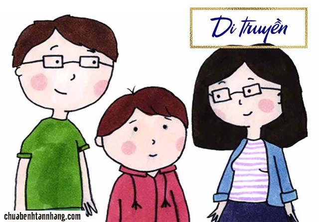 Di truyền là một trong những nguyên nhân gây tàn nhang