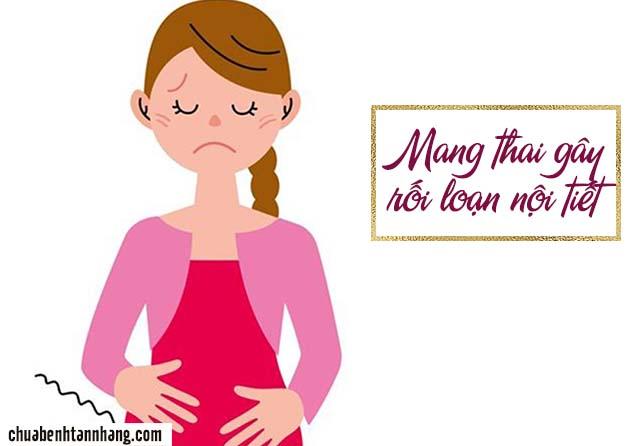rối loạn nội tiết tố gây tàn nhang ở gò má