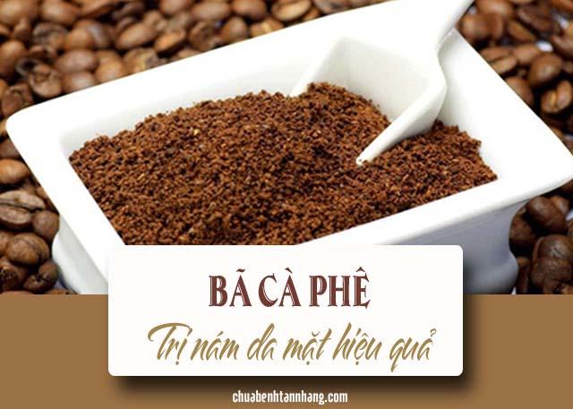 Cách làm mờ vết nám từ cà phê