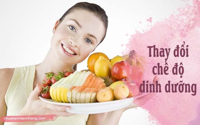 trị da xỉn màu lỗ chân lông to bằng cách thay đổi chế độ dinh dưỡng
