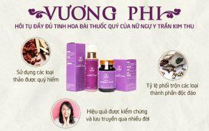 Bộ sản phẩm nám da - tàn nhang Vương Phi - Đúc kết từ công thức bí truyền Lương Y Trần Kim Thu