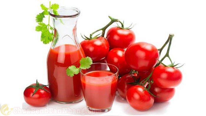 Cà chua điều trị tàn nhang hiệu quả