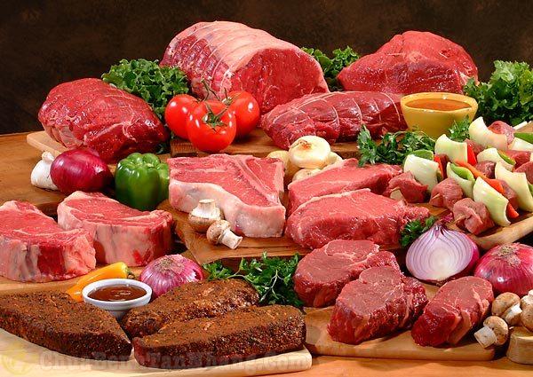 Nên kiêng những loại thực phẩm có màu đỏ