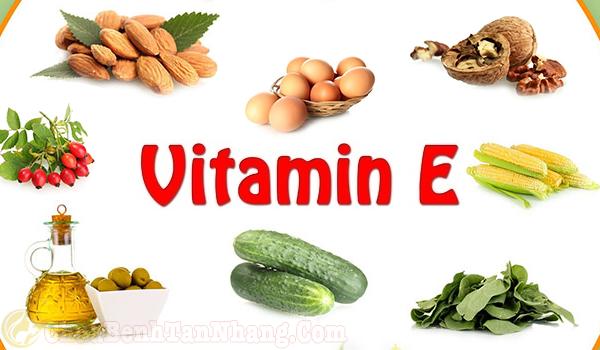 Nên bổ sung các loại thực phẩm chứa nhiều vitamin E
