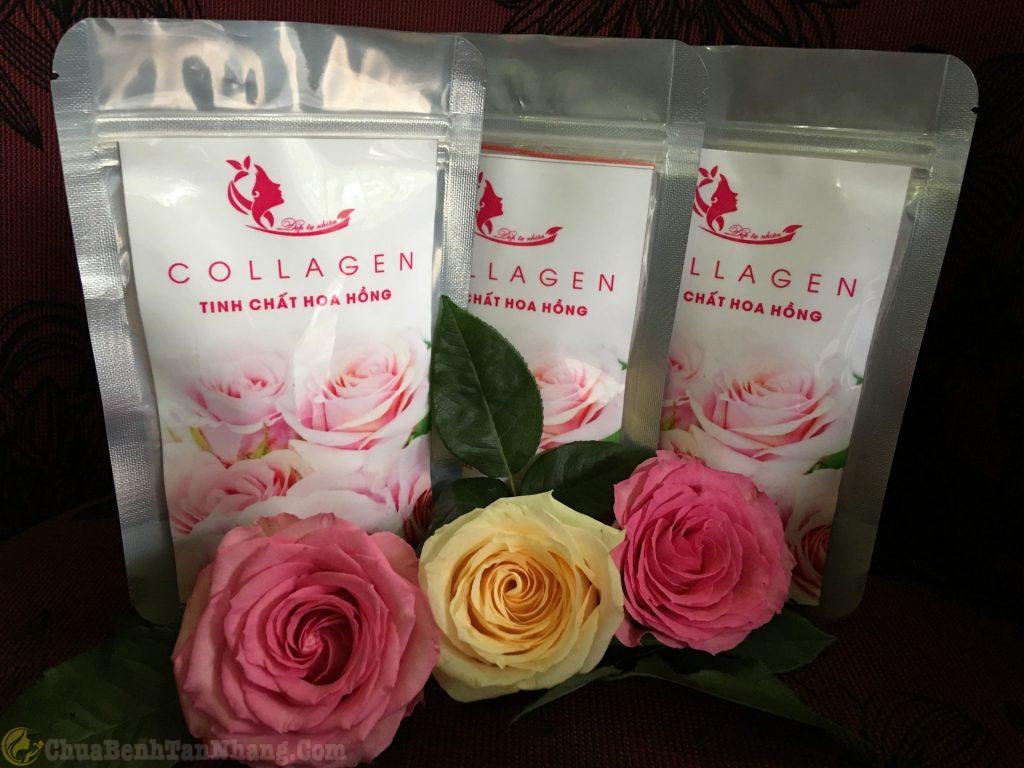 Mặt nạ collagen giúp da mịn màng