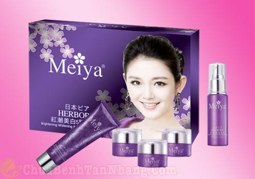 Bộ mỹ phẩm trị nám tàn nhang Meiya 5 in 1