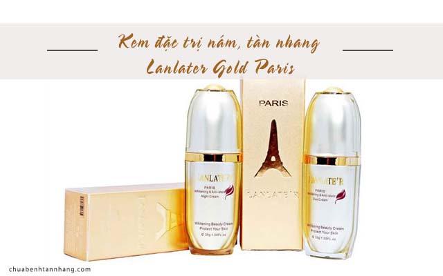 Kem đặc trị nám, tàn nhang Lanlater Gold Paris