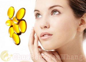 Trị nám da bằng vitamin E