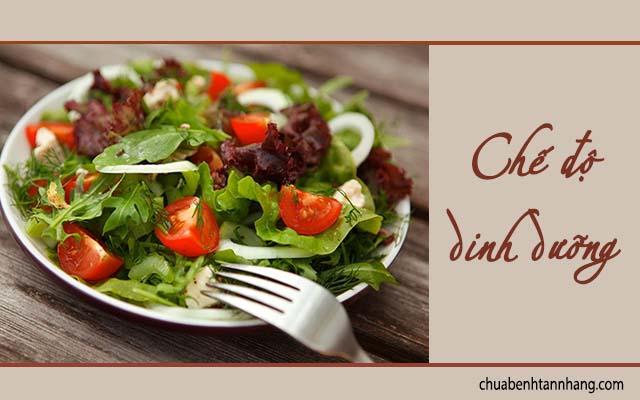 chế độ dinh dưỡng lành mạnh là cách phòng nám da sau sinh