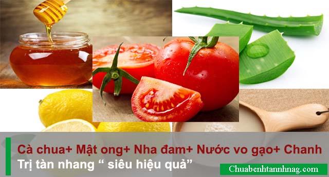 Bạn đã biết bí quyết trị tàn nhang bằng cà chua chưa