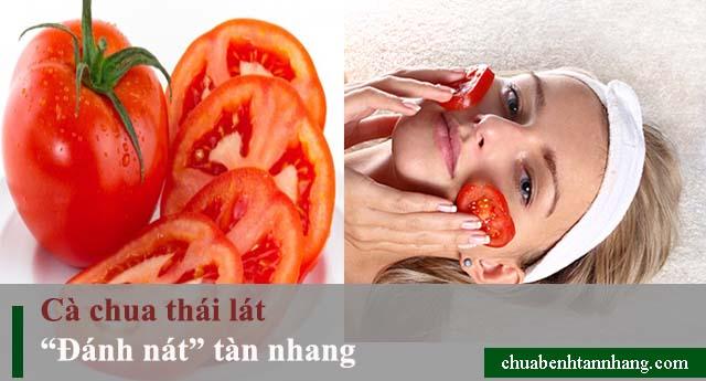 Khắc phụ nỗi lo tàn nhang chỉ với những quả cà chua siêu đơn giản