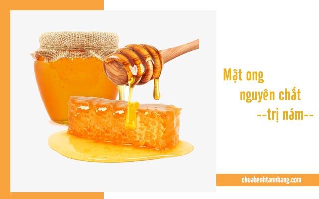 chữa nám da bằng mật ong nguyên chất