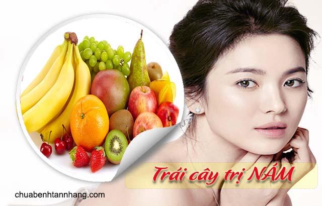 chữa nám bằng các loại trái cây