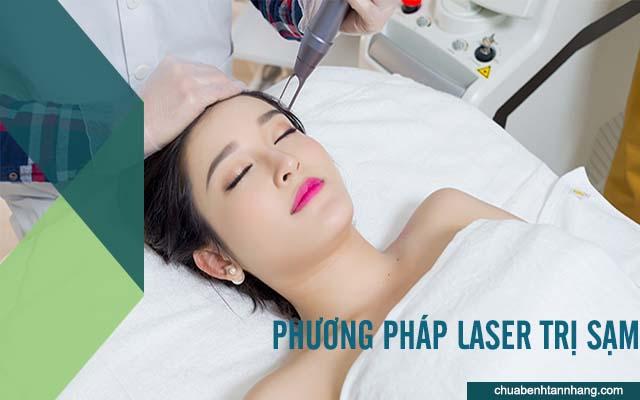 cách trị sạm da sau sinh bằng phương pháp laser