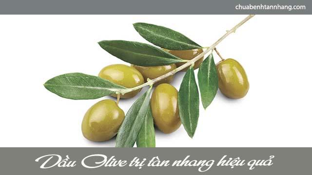 trị tàn nhang khi mang thai với dầu olive