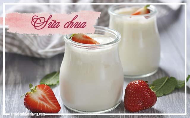 sữa chua trị tàn nhang khi mang thai hiệu quả