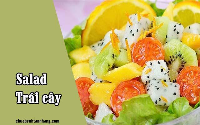 Salad trái cây là món ăn hỗ trợ điều trị nám từ bên trong cơ thể