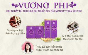 Bộ sản phẩm Nám - Tàn nhang Vương Phi đúc kết từ công thức bí truyền Lương y Trần Kim Thu